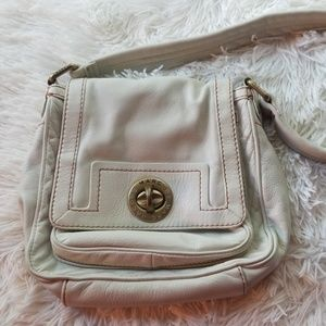 Marc Jacobs Off White Leather Purse